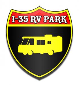 I35 RV PARK LOGO Drop Shadow 50